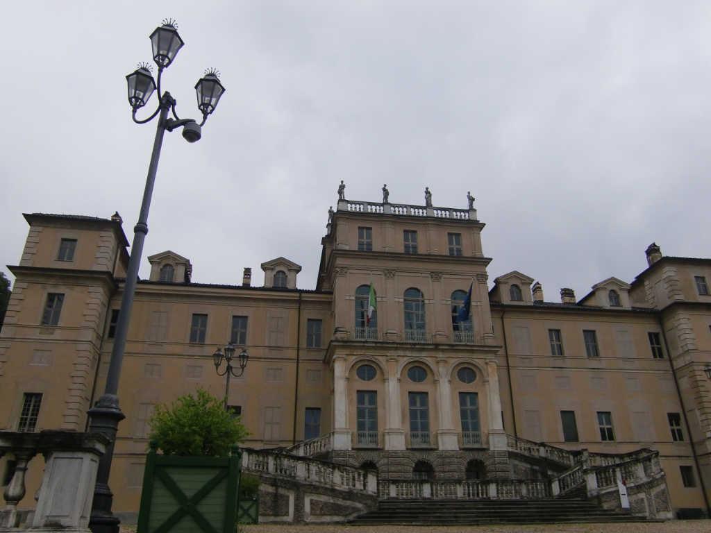 Villa della Regina von vorn, leider nur an einem Regentag mit trüben Wetter. Foto: Katrin Walter - simply walter