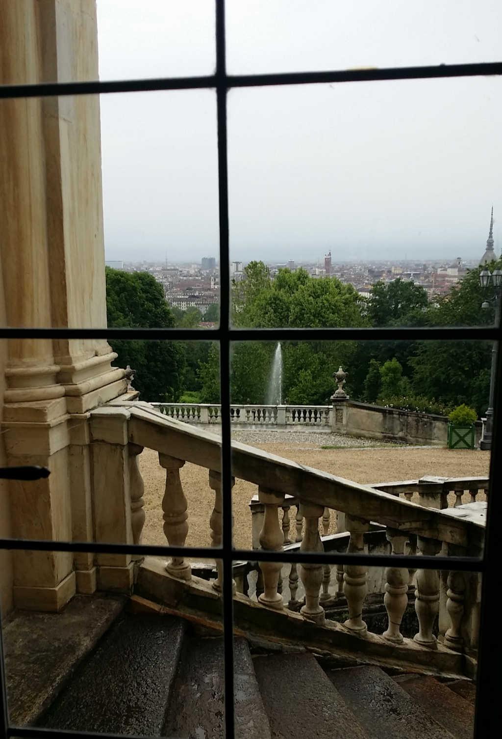 Blick aus der Villa della Regina auf die Stadt Turin. Foto: Katrin Walter - simply walter