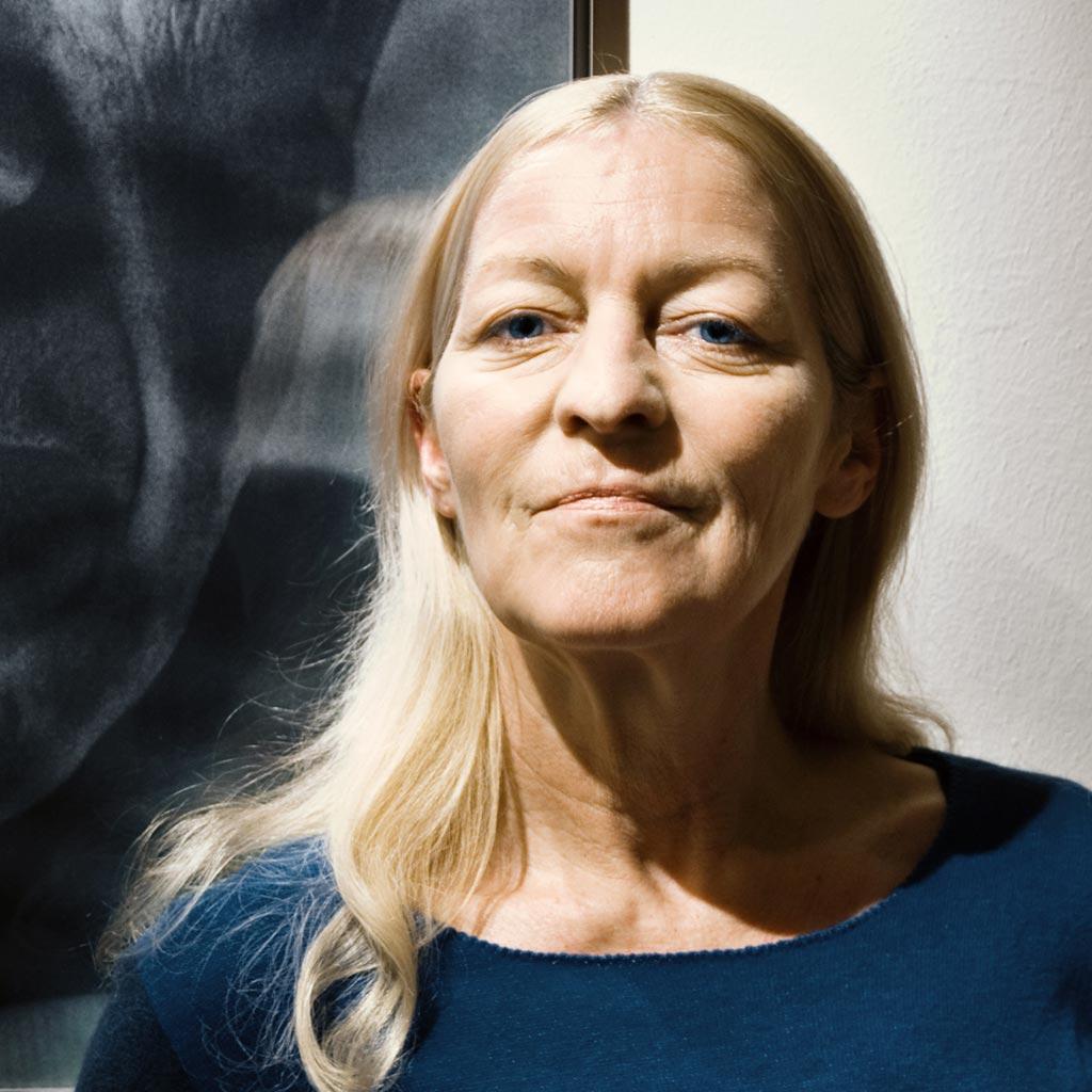Bettina Roeder, Grafikdesignerin aus Deutschland, die heute in Rom lebt und arbeitet und oft mit Katrin Walter kooperiert.
