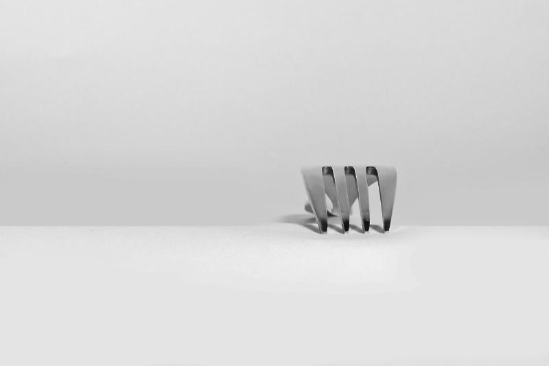 Ein Gabel als Metapher für: Do you speak Design? Dein Handwerkszeug kennen, sonst wird's nichts mit dem Kreativmalochen. Katrin Walter - simply walter